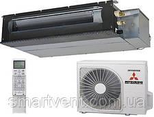 Кондиционер канальный инверторный Mitsubishi Heavy SRR25ZM-S/SRC25ZMX-S