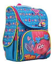 Рюкзак школьный 555162 каркасный H-11 Trolls turquoise