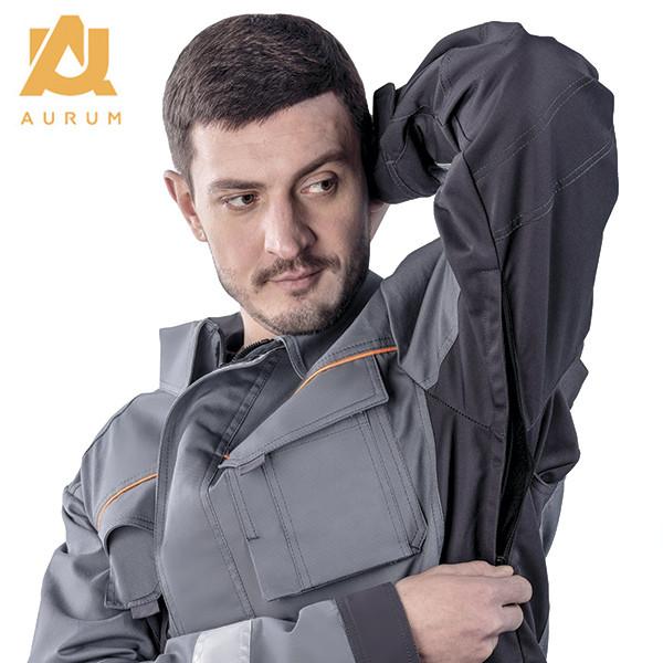 Костюм робочий AURUM куртка та напівкомбінезон з бавовни - фото 4