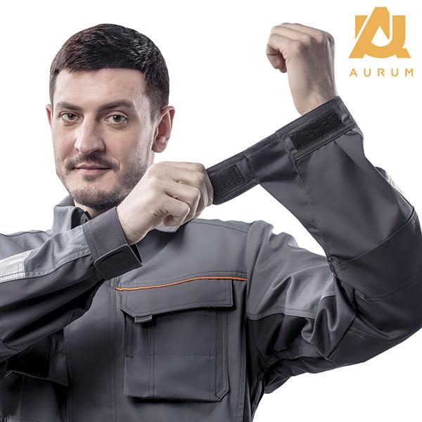 Костюм робочий AURUM куртка та напівкомбінезон з бавовни - фото 5
