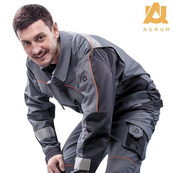 Костюм робочий AURUM куртка та напівкомбінезон з бавовни - фото 6