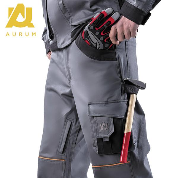 Костюм робочий AURUM куртка та напівкомбінезон з бавовни - фото 7