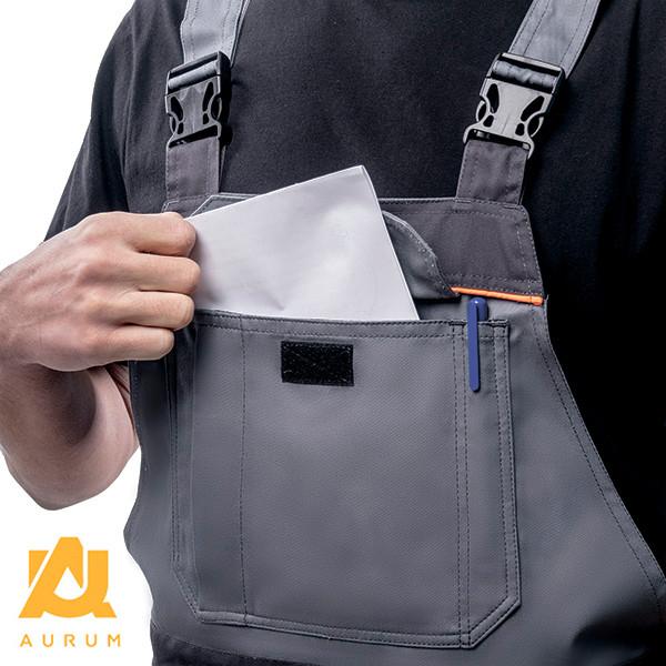 Костюм робочий AURUM куртка та напівкомбінезон з бавовни - фото 9