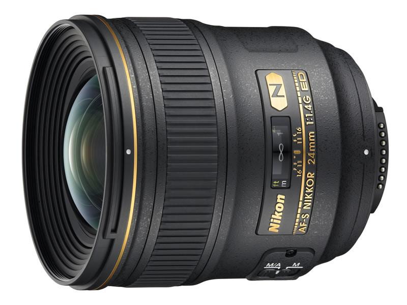 Широкоугольный Nikon 24mm f/1.4G ED AF-S Nikkor