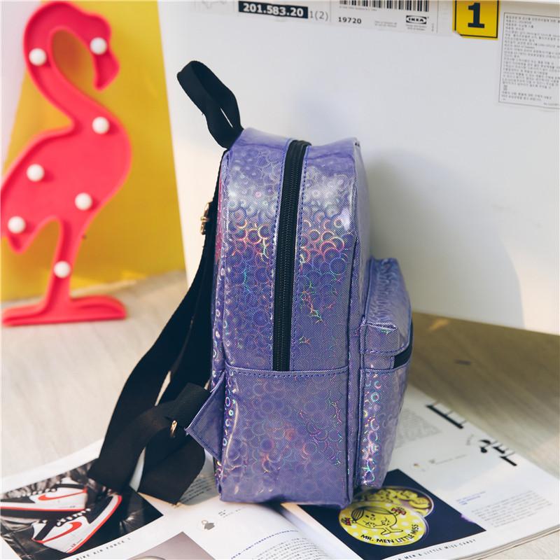9bb25c04266b Маленький рюкзак с блестками  продажа, цена в Киеве. рюкзаки ...