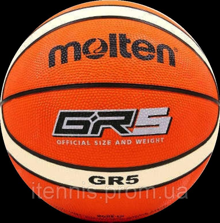 Баскетбольный мяч Molten BGR5-OI