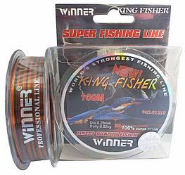 Леска Winner King Fisher 0,2mm 100m
