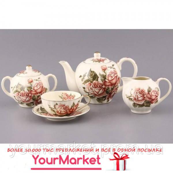 Сервиз чайный Корейская роза 15 пр Lefard 69-1788