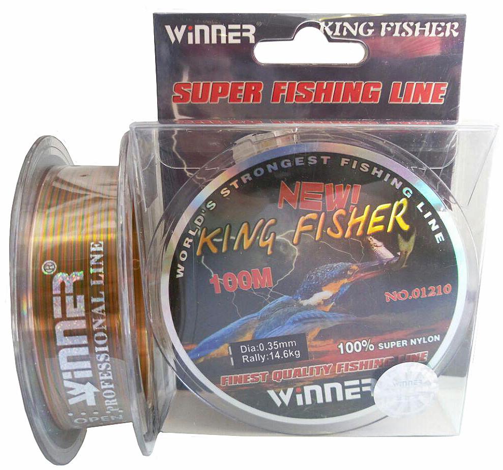 Леска Winner King Fisher 0,35mm 100m