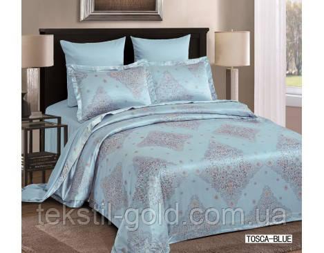 Комплект постельного белья 6 Предметов ТМ ARYA (Турция) Жаккард 2 Сп. евро 200Х220 Tosca