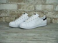Кроссовки мужские Adidas Stan Smith White/Black Реплика