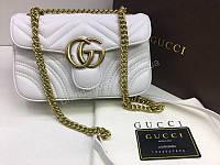 NEW 2018 Шикарная сумочка Gucci из натуральной кожи в Lux качестве в полном комплекте есть номерной знак арт 2086, фото 1