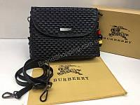 Хит 2018 Шикарная сумочка Burberry из натуральной кожи цвет черный арт 2093, фото 1