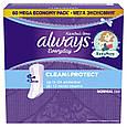 Ежедневные гигиенические прокладки Always Every Day Clean & Protect Normal 60 шт, фото 2