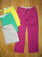 Котоновые брюки - бриджи для девочки