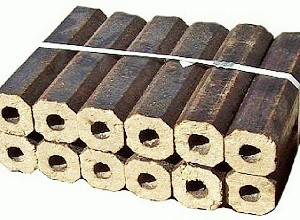 Брикеты из дубовых опилок