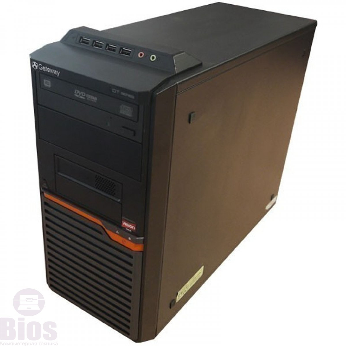 Системный блок Acer Gateway DT55 sAM3 (Athlon II 255/NoRAM/NoHDD) б/у
