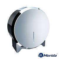 Держатель для туалетной бумаги из полированной нержавейки Merida Stella Mini, Польша