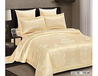 Комплект постельного белья 6 Предметов ТМ ARYA (Турция) Жаккард 2 Сп. евро 200Х220 Savino