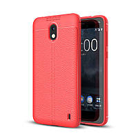 Чехол Nokia 2 силикон Original Auto Focus Soft Touch красный