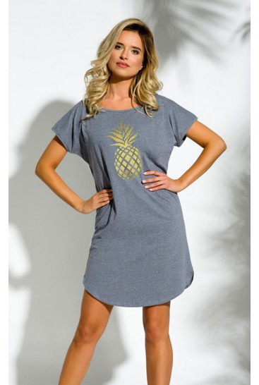 Ночная Рубашка Taro Pia 2156 01 Серая — в Категории