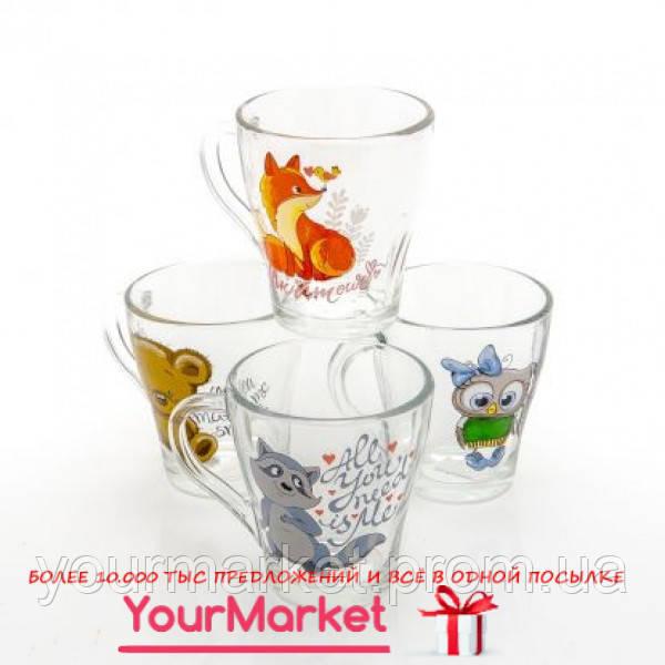 85003583, Чашка стеклянная Грация Yuo&me 250 мл