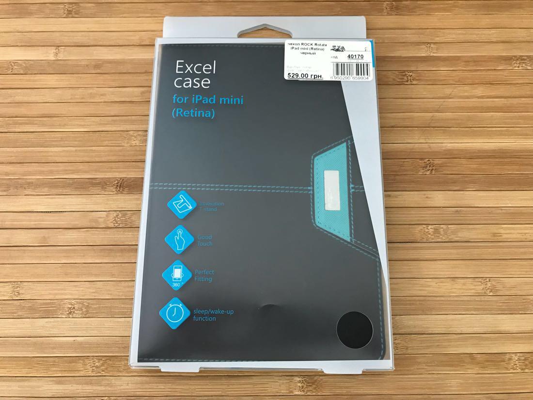 Чехол ROCK Rotate iPad mini EAN/UPC: 6950290659904