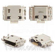 Роз'єм micro usb-Samsung I8910 Omnia HD, I9000 Galaxy S, I9001 Galaxy S Plus, I9003 Galaxy SL, S5260, S5350