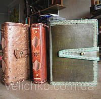Оригинальные кожаные блокноты