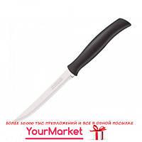 Нож для стейка Tramontina Athus black с зубч. 127 мм инд. Блистер, 23081/905