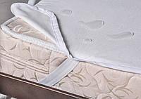 Наматрасник непромокаемый двуспальный 180х200 (влагонепроницаемая простынь на резинках) Руно 828Н