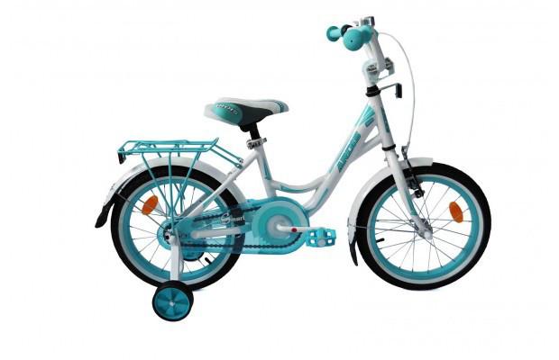 Велосипед детский ARDIS16 SMART BMX бело-зеленый