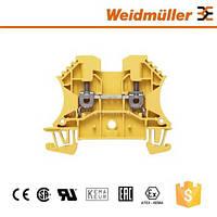 Клемма с винтовыми зажимами Weidmuller WDU 2.5 GE - 1020020000