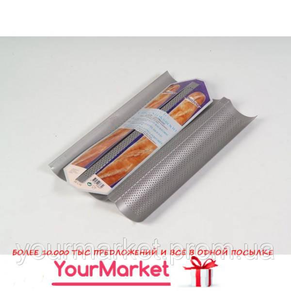 Форма для 3-х багетов Patisse 38х24 см, 03664