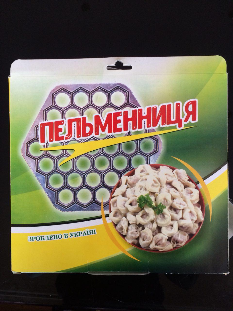 Пельменница шестигранная усиленная на 37 изделий в картонной упаковке
