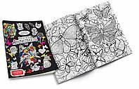 "Розмальовка фломастерами ""Антистрес"" (2 види/40), арт. 6077 (RA-01-01/01-02), Danko Toys"