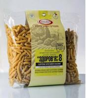 Макароны ЗДОРОВЬЕ №8 С семенами тыквы Из твердых сортов пшеницы Мак-Вар, 400 г