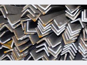 Уголок металлический горячекатаный 125 х 125 х 8 мм
