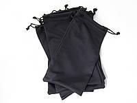 Мягкий чехол мешочек для солнцезащитных очков, черный