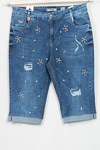 Женские джинсовые шорты, размеры 48 50 52 54
