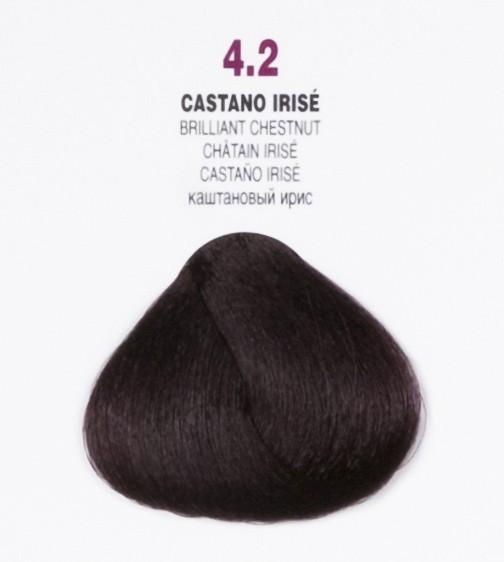 Краска для волос 4.2 Brelil Colorianne Classic радужный каштановый 100 мл