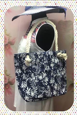 Городская женская сумка через плечо с цветочным принтом, фото 2
