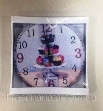Часы, ретро, Десерт, 29 см, Днепр