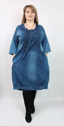 Джинсовое платье  AY-SEL (Турция) рр 50-66