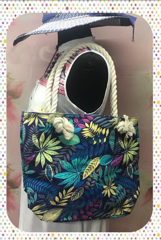 Городская женская сумка через плечо с цветочным принтом