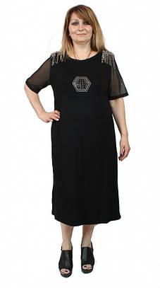 Оригинальное женское платье трикотаж,Luizza (Турция)