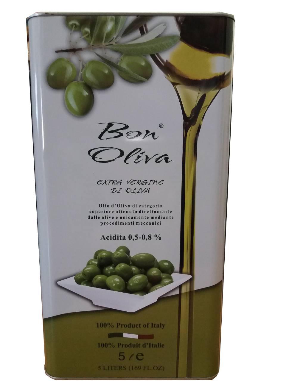 Оливковое масло Bon Oliva Extra Vergine Di Oliva 5 л