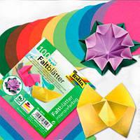 Бумага для оригами круглая ассорти, d=18 см, 100л, фото 1