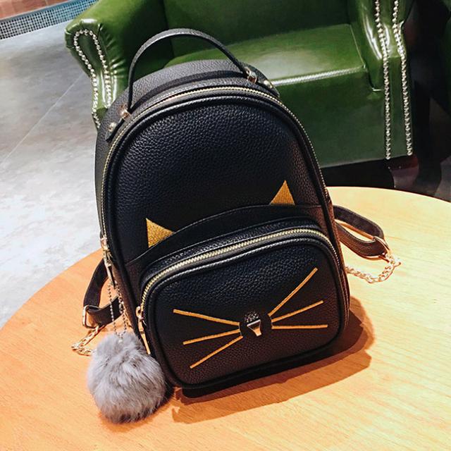 рюкзачок с ушками кота