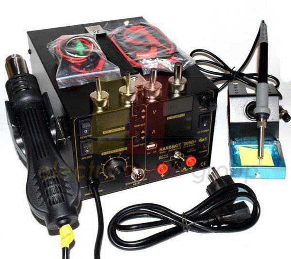 Термовоздушная паяльная станция HandsKit 909D, 800W, 100-450*C